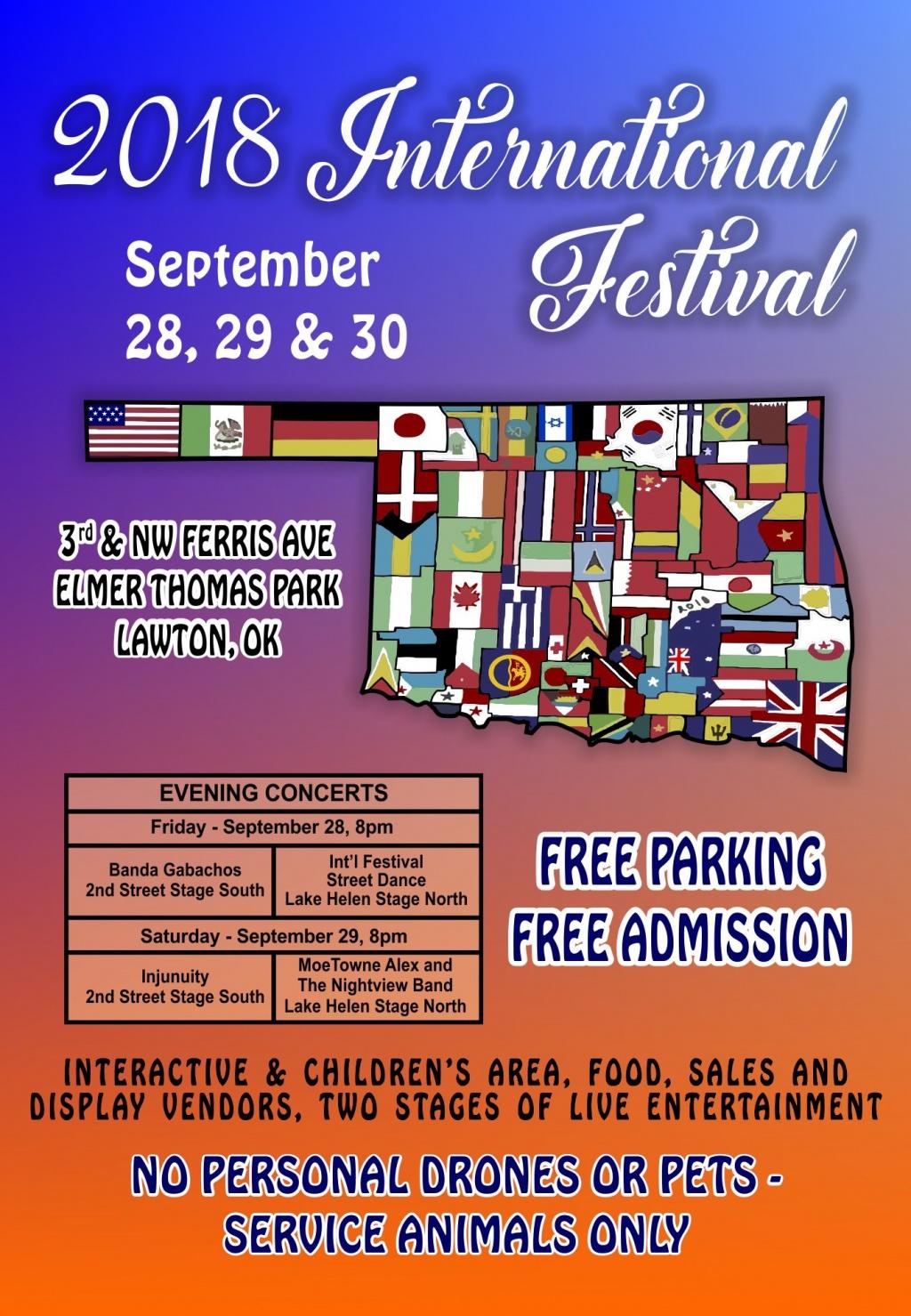International Festival @ Elmer Thomas Park | Lawton | Oklahoma | United States