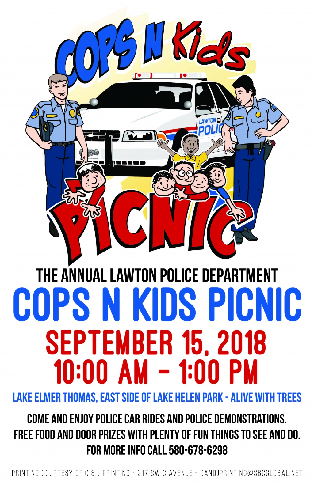 LPD Cops and Kids Picnic 2018