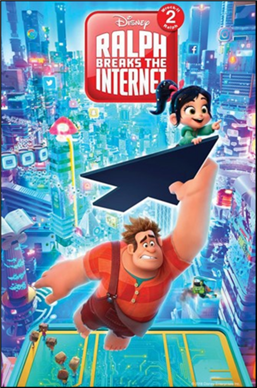 Ralph breaks the internet @ Lawton Public Library