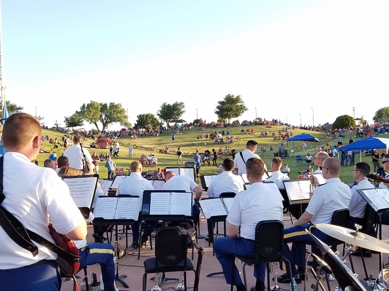 77th Army Band at Freedom Festival