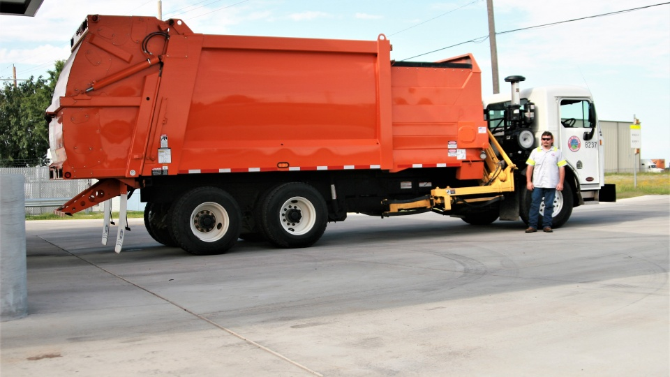 CNG, Automated Residential Refuse Truck