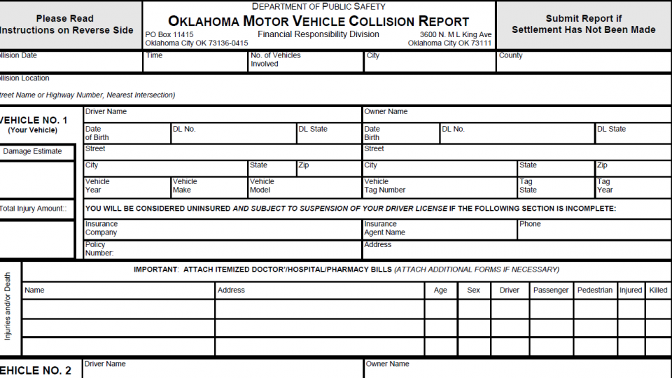 Traffic Collison Report
