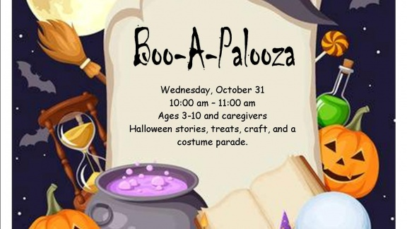 Halloween stories, treats, craft, and a costume parade