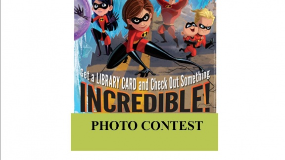 Library Card Sign-up Month Photo Contest