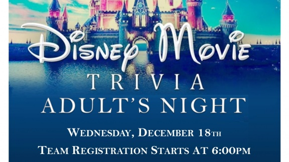 Disney Adult Trivia Night