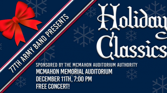 77th Army Band Holiday Concert