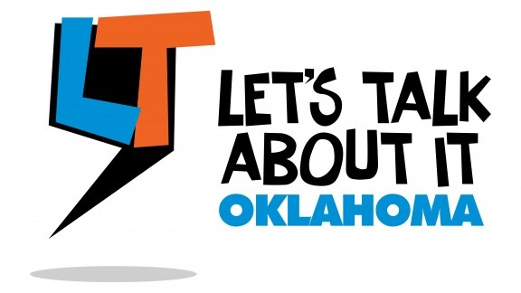 Lets Talk About It, Oklahoma Logo from Oklahoma Humanities