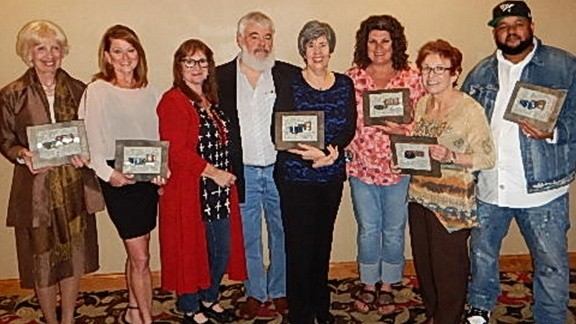 2016 Lawton Cultural Award Winners with One to Six Artist, Jenny Perry