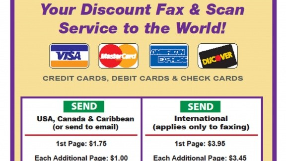 Fax Prices